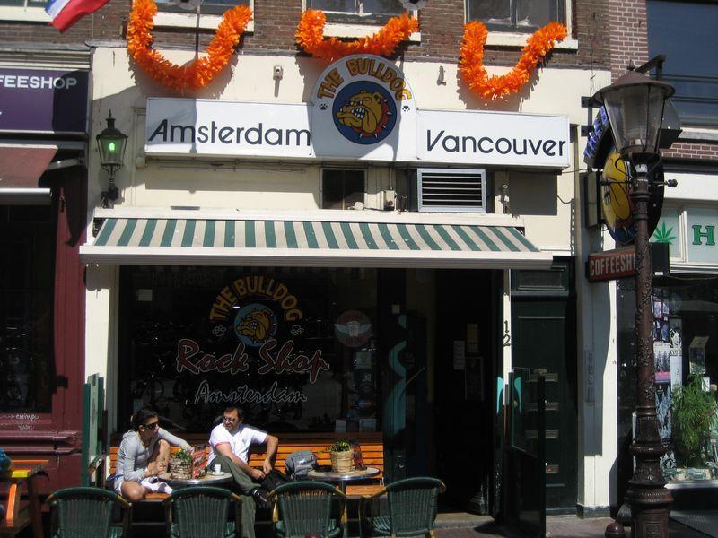Bulldog Rock Shop Amsterdam