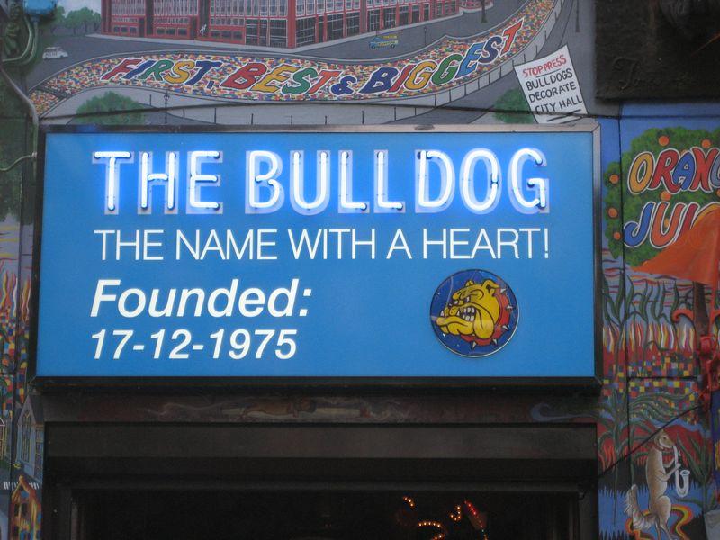 Bulldog coffeeshop amsterdam