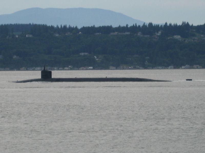 Hood Canal submarine