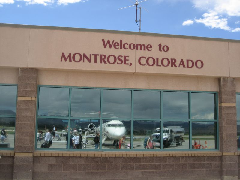 Montrose Colorado Airport MTJ