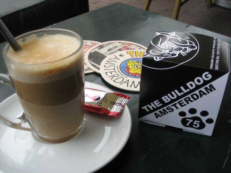 Bulldog Amsterdam spacecake