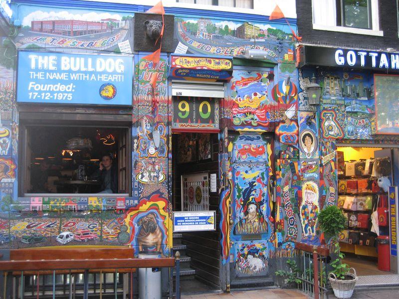 Bulldog Original Shop Amsterdam