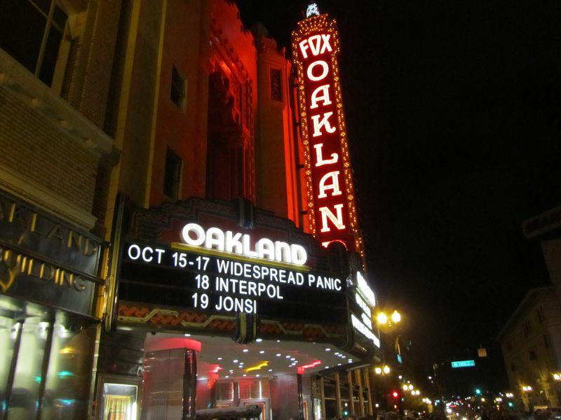 Oakland Fox Widspread Panic