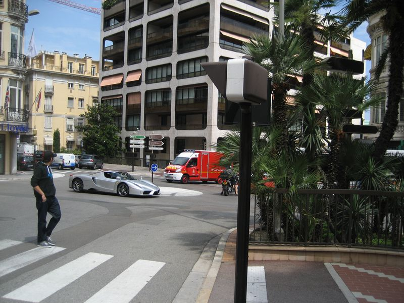 Sports car in Monte Carlo, Monaco