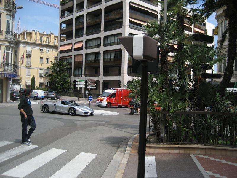 Sports car in Monte Carlo, Monaco