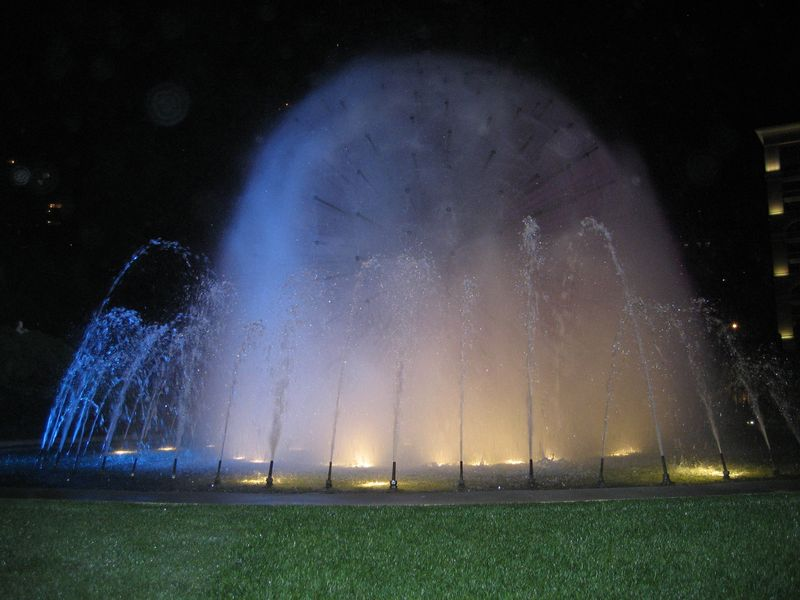 Fountain at Monte Carlo Sporting Club, Monaco