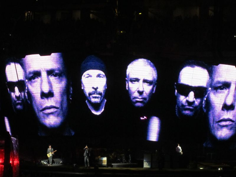 U2 images at o.co coliseum