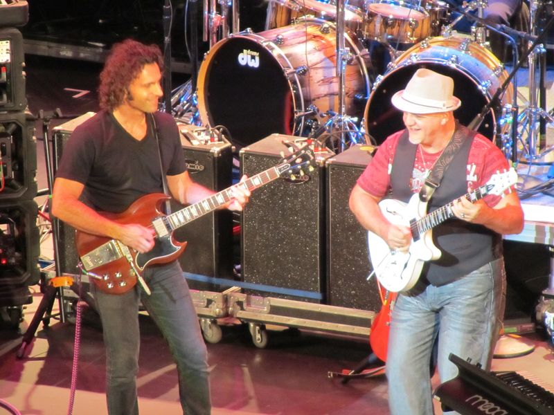 Dweezil Zappa and Frank Baraume at Seattle Paramount 9/24/11