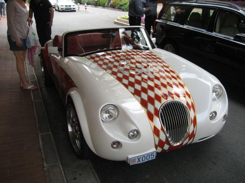 Special Olympics Car, Monte Carlo, Monaco