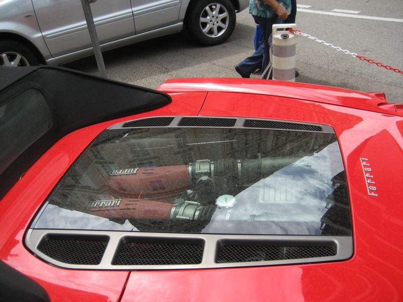 Clear Hood Ferrari, Monte Carlo, Monaco