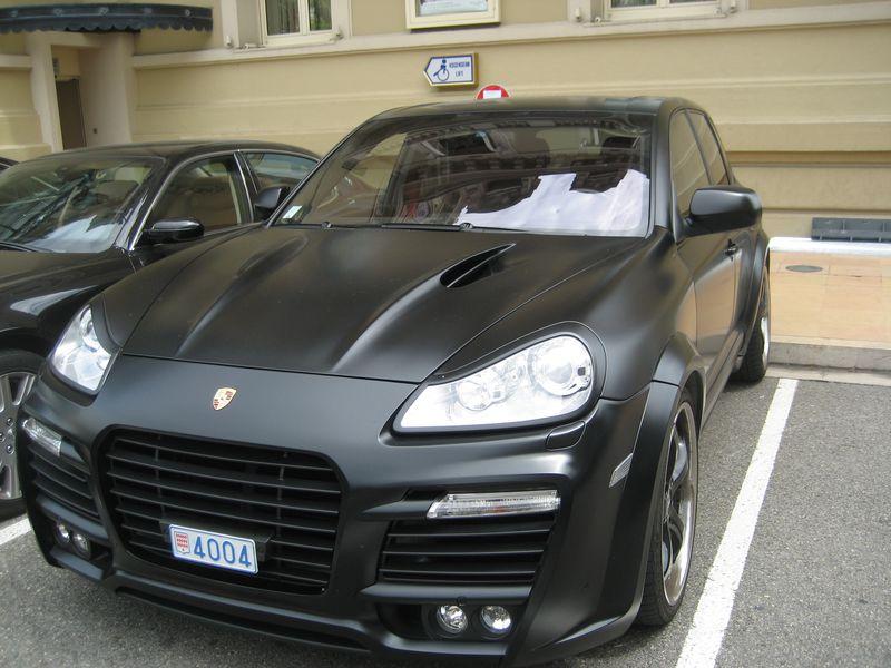 Matte Black Porsche, Monte Carlo, Monaco