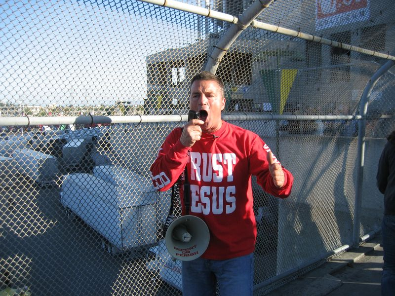 Trust Jesus Speaker at o.co coliseum u2