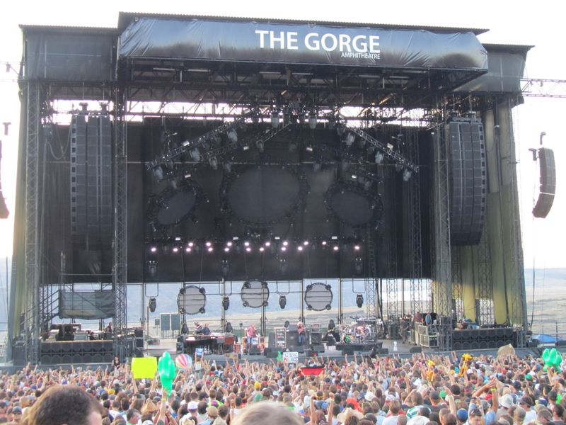 Phish at The Gorge 8/6/11