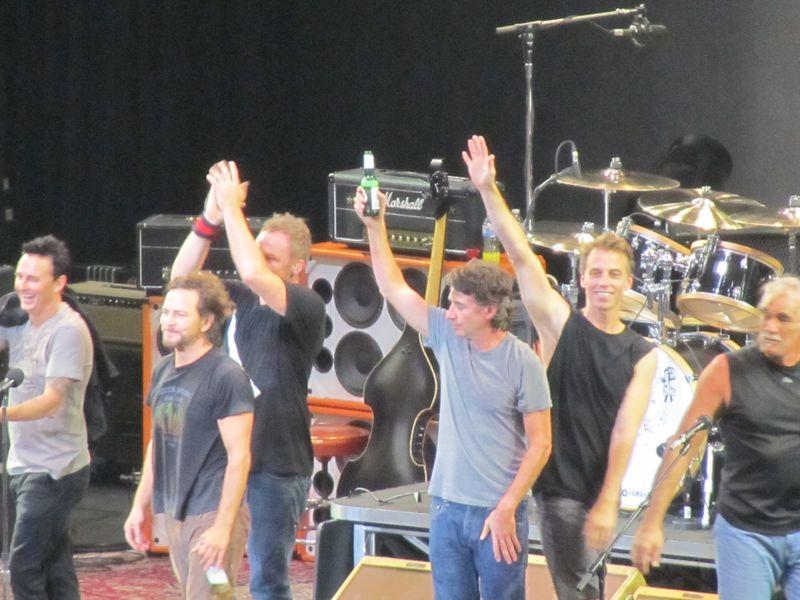 Pearl Jam in Winnipeg 9/17/11