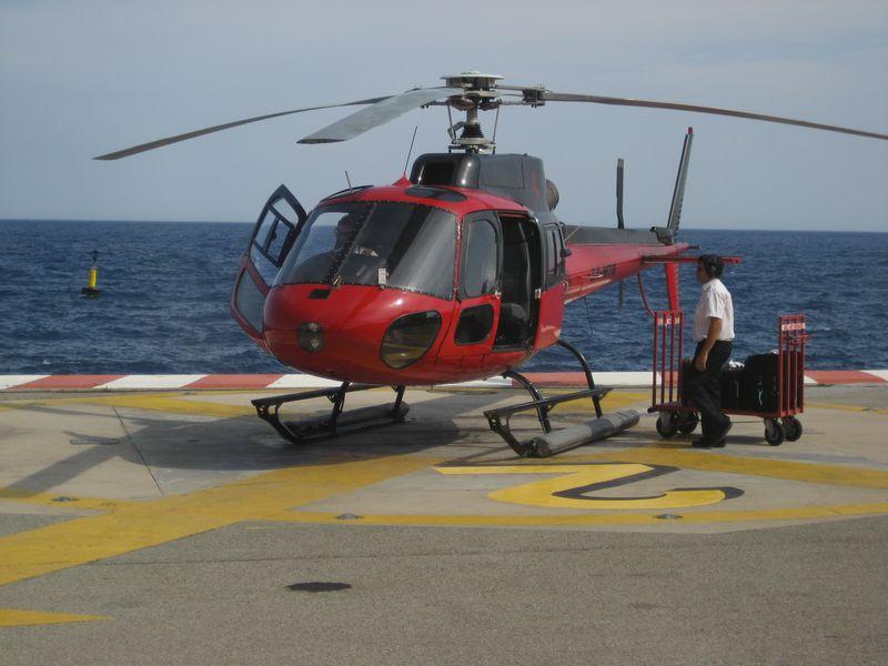 Heli Air Monaco Monte Carlo, Monaco to Nice, France shuttle