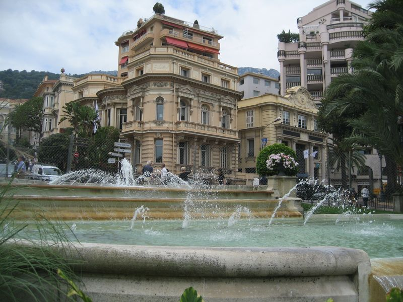 Fountains of Monte Carlo, Monaco