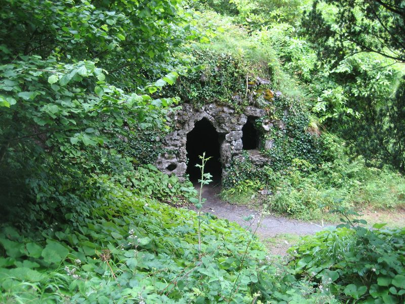 Hobbit hole at Dromoland Castle, County Clare, Ireland