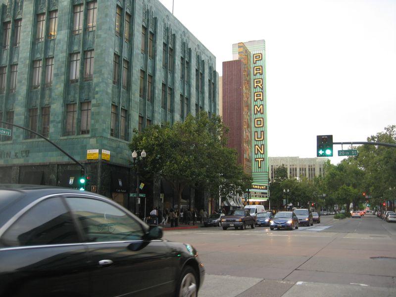 Oakland Paramount and I Magnin