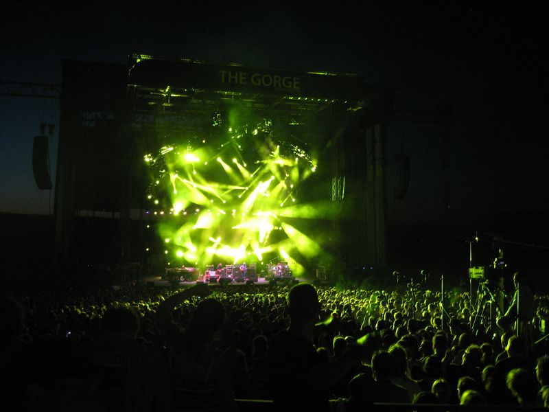 Phish at The Gorge 8/5/11