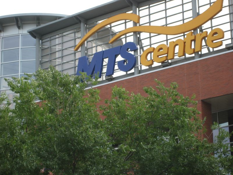 MTS Centre in Winnipeg MB