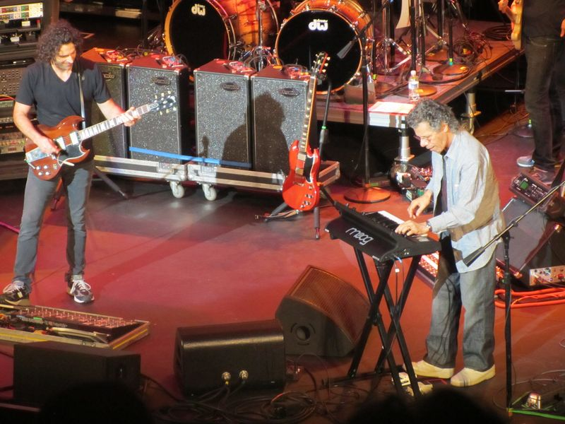 Dweezil Zappa and Chick Corea At Seattle Paramount 9/24/11