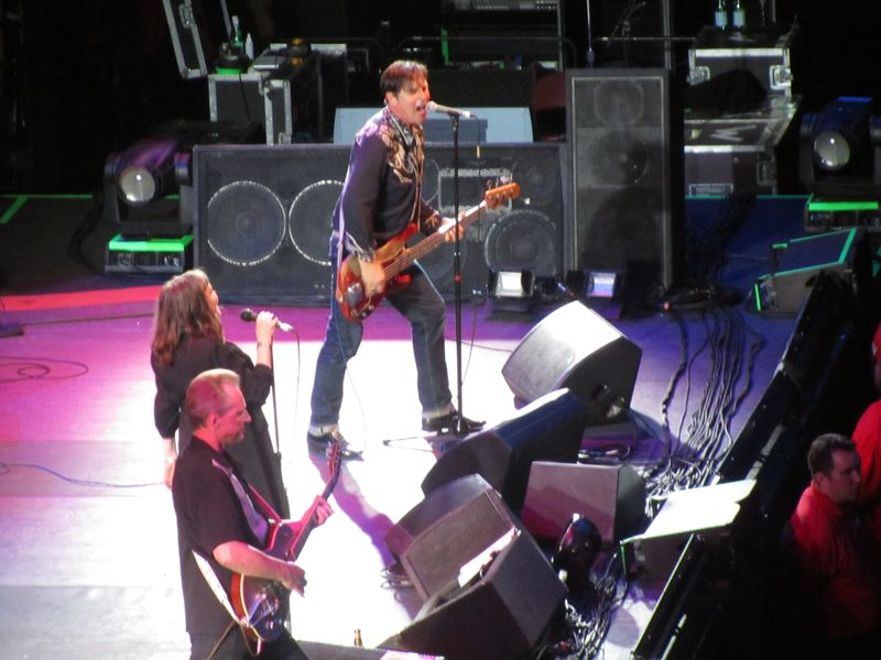 John Doe of X opening for Pearl jam at the Stockholm Globe 7/7/12