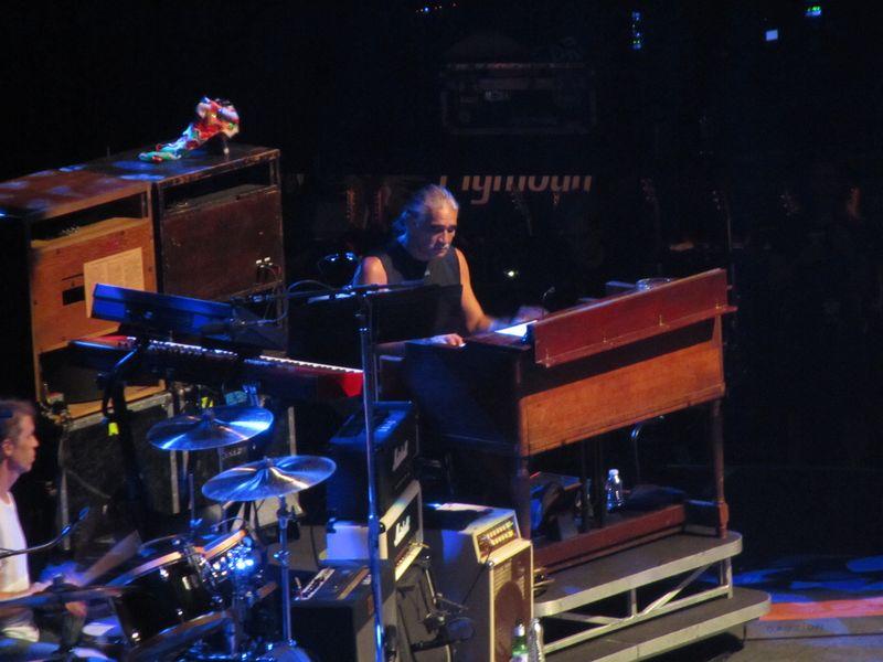 Boom Gaspar of Pearl Jam at Stockholm Globe 7/7/12