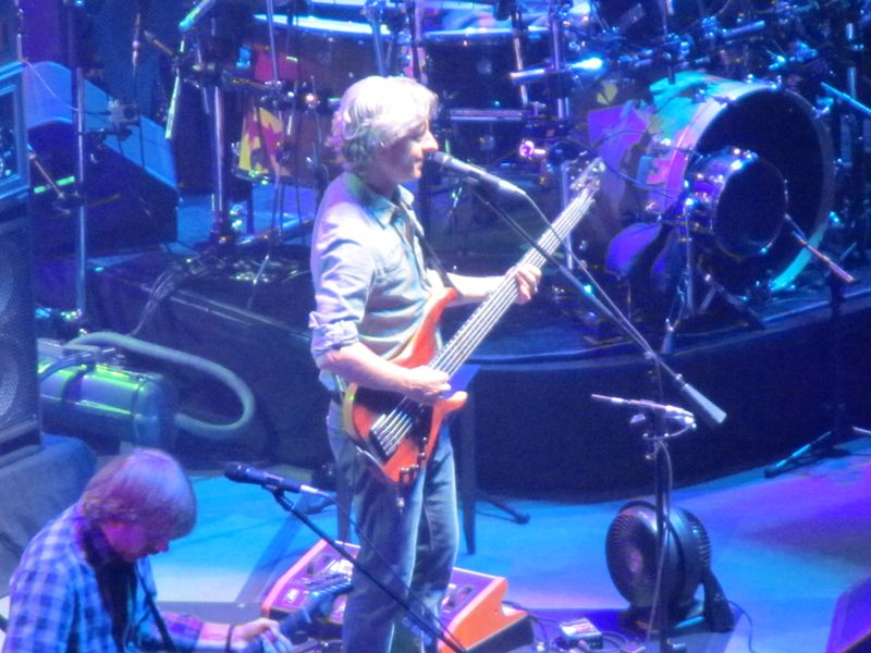 Mike Gordon of Phish in San Francisco 8/17/12