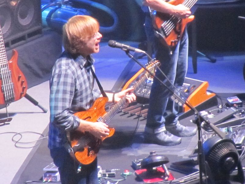 Trey Anastasio of Phish in San Francisco 8/17/12