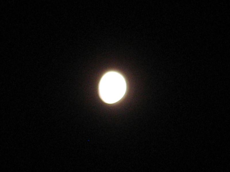 Moon at Phish Alpine Valley 6/30/12