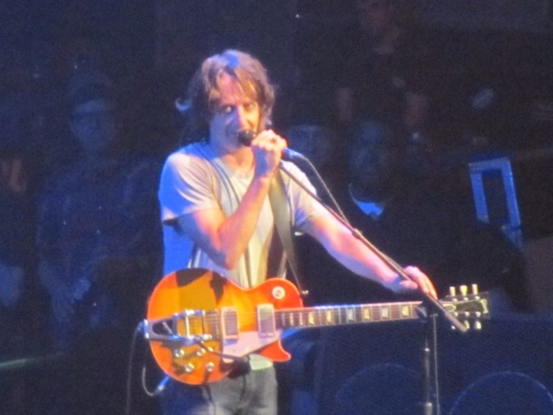 Stone Gossard of Pearl Jam at Oslo Spektrum 7/9/12