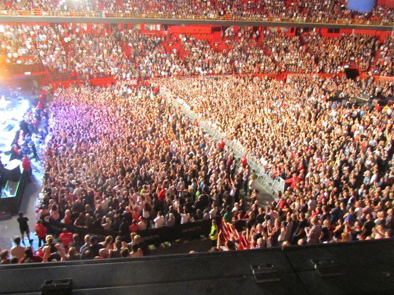 Pearl Jam at Stockholm Globe 7/7/12