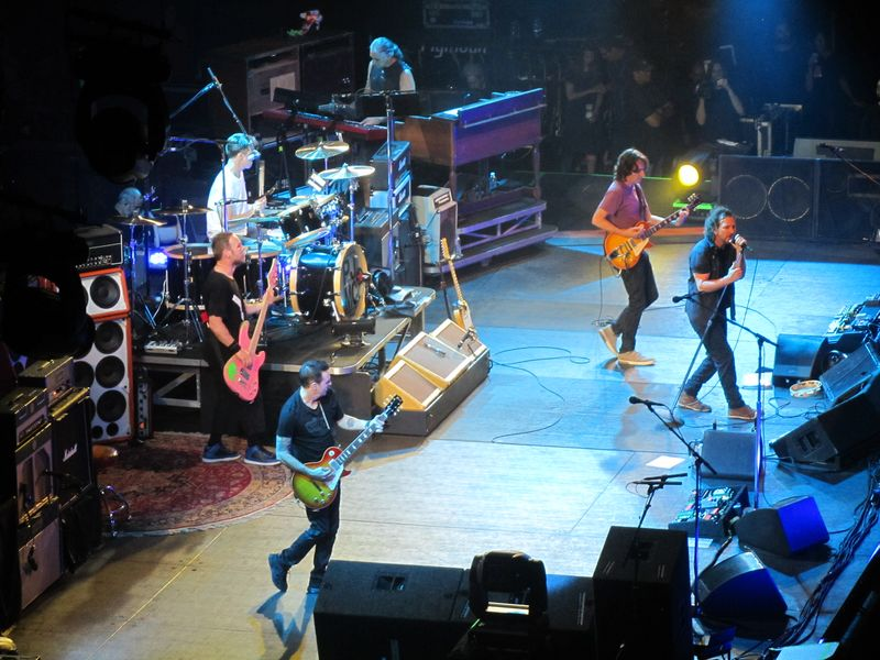 Pearl Jam at the Stockholm Globe 7/7/12