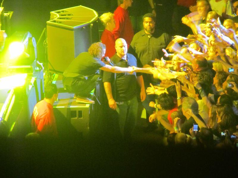 Eddie Vedder of Pearl Jam at Stockholm Globe 7/7/12
