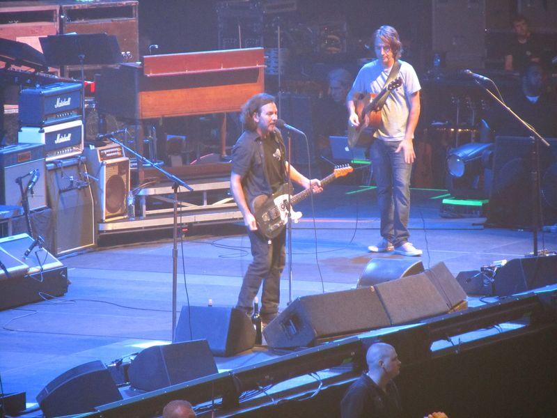 Eddie Vedder of Pearl Jam in Oslo 7/9/12
