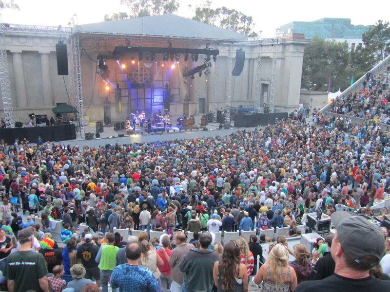 String Cheese incident at Berkeley Greek 7/14/12