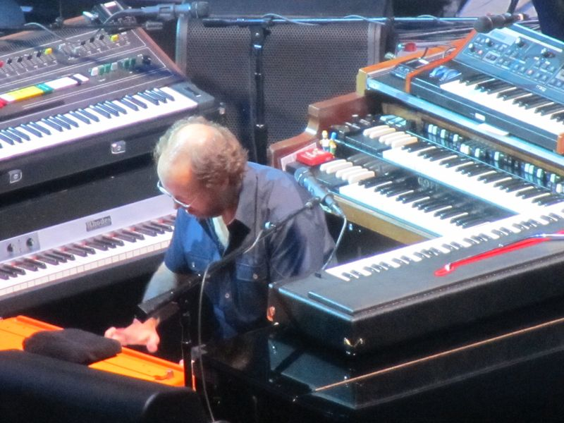 Page McConnell of Phish in San Francisco 8/17/12
