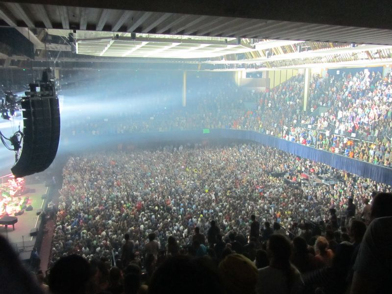 Phish at Bill Graham Civc Auditorium 8/17/12