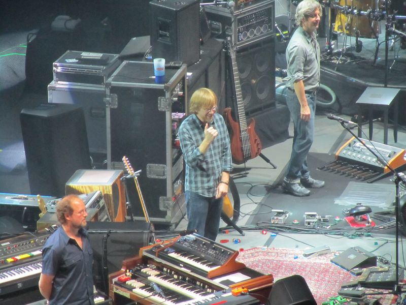 Phish in San Francisco 8/17/12