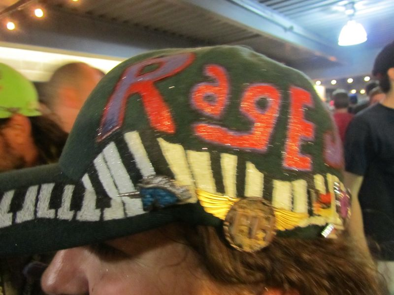 Page Side Rage Side Hat at Dick's Phish 9/2/12
