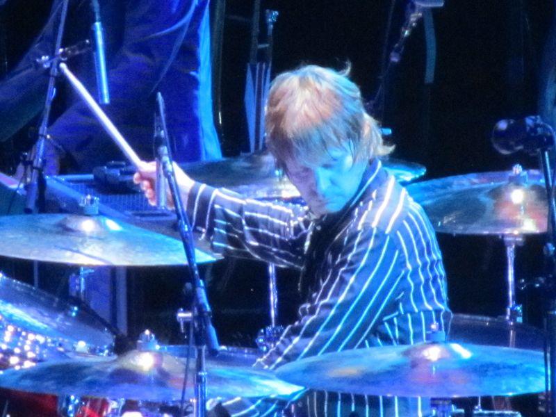 Zak Starkey of The Who in Oakland 2/1/13