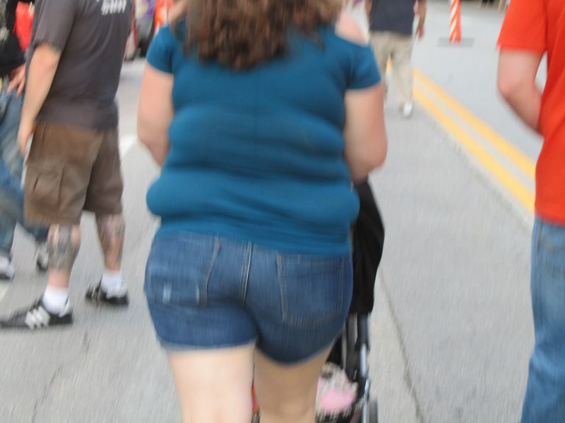 Large butt at Pearl Jam 9/22/12