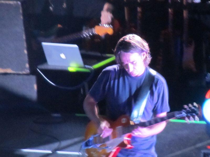 Stone Gossard of Pearl jam in Missoula 9/30/12