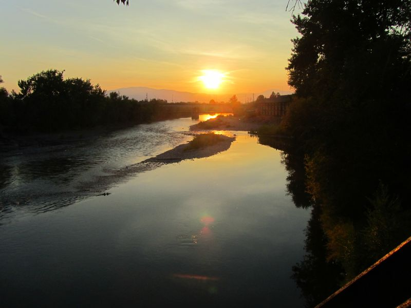 Clark Fork River in Missoula 9/30/12
