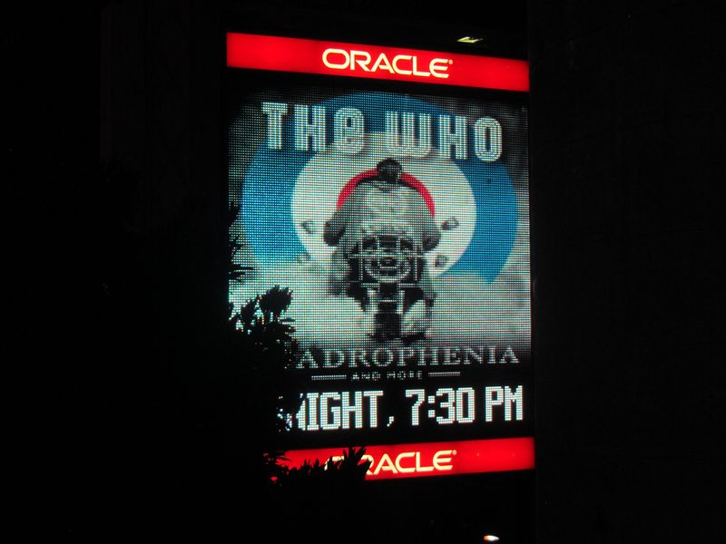 The Who Oakland 2/1/13