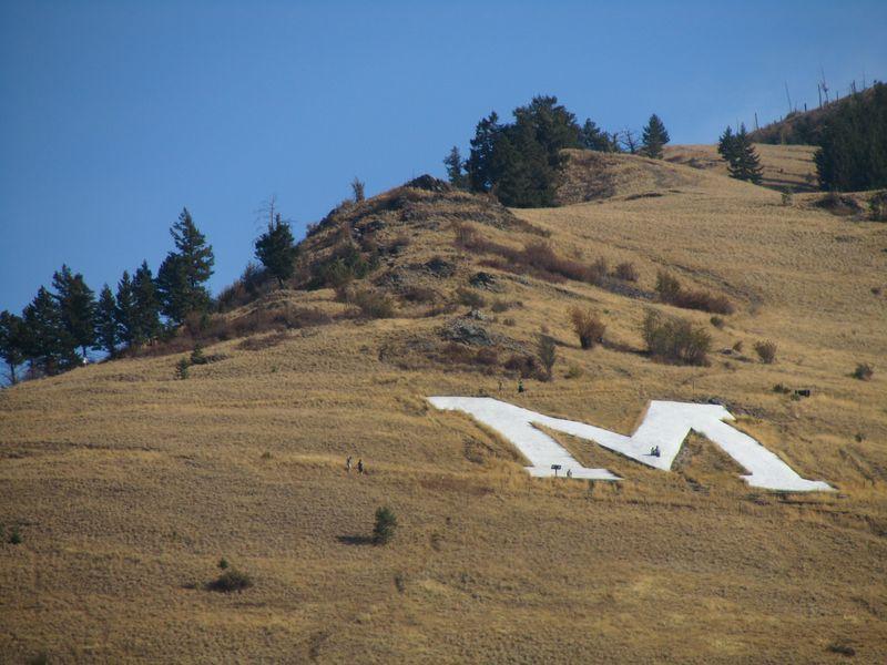 Mt. Sentinel in Missoula MT