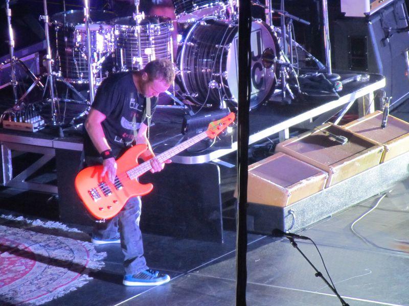 Jeff Ament of Pearl Jam in Missoula 9/30/12