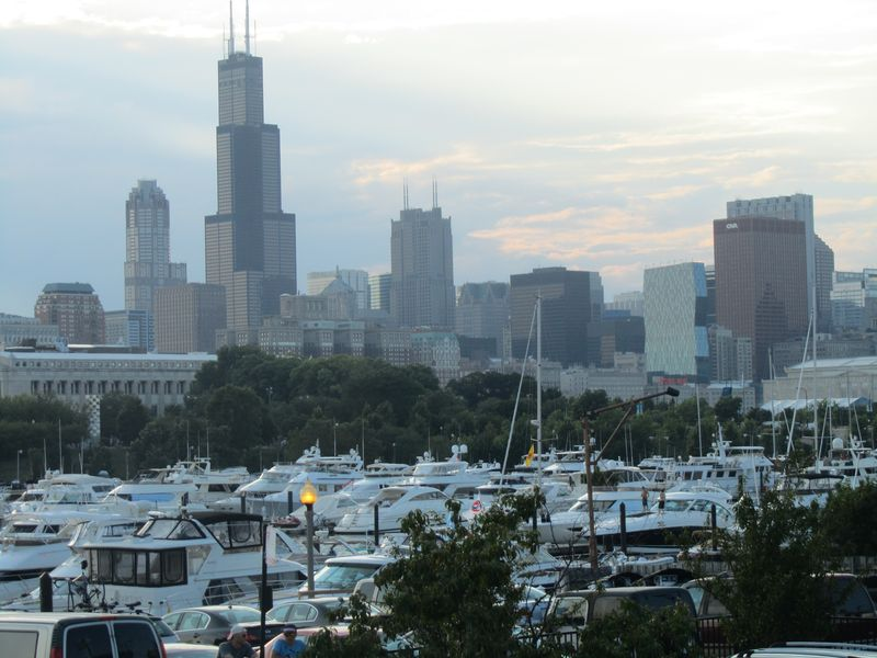 Phish at Northerly Island in Chicago 7/20/1
