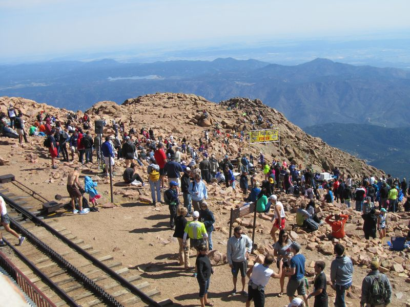Pikes Peak Ascent 2013