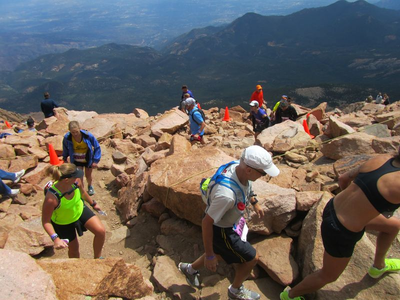 Pikes Peak Ascent 8/17/2013